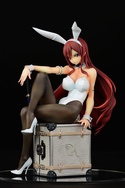 FAIRY TAIL『エルザ・スカーレット Bunny girl_Style/type white』1/6 完成品フィギュア-001