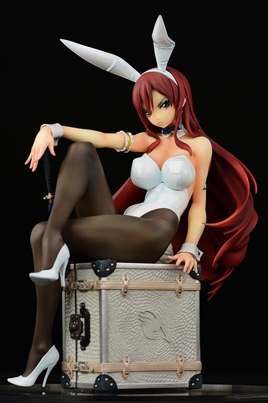 FAIRY TAIL『エルザ・スカーレット Bunny girl_Style/type white』1/6 完成品フィギュア-027