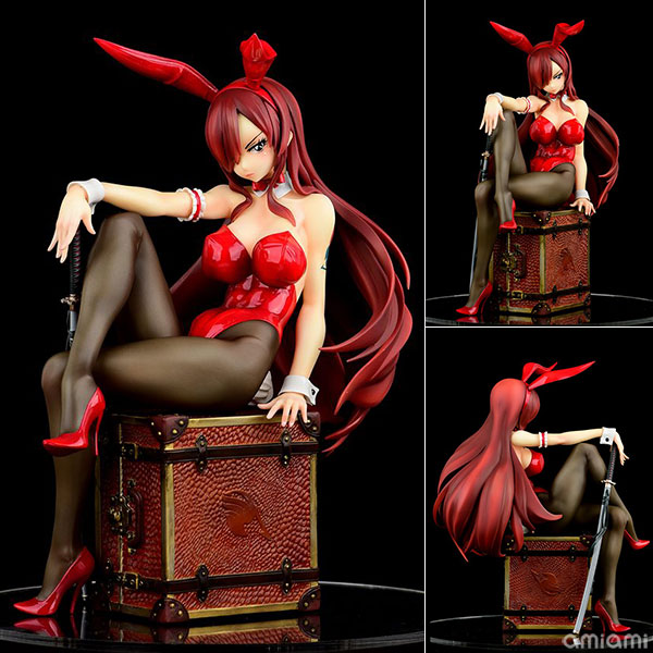 FAIRY TAIL『エルザ・スカーレット Bunny girl_Style/type rosso』1/6 完成品フィギュア