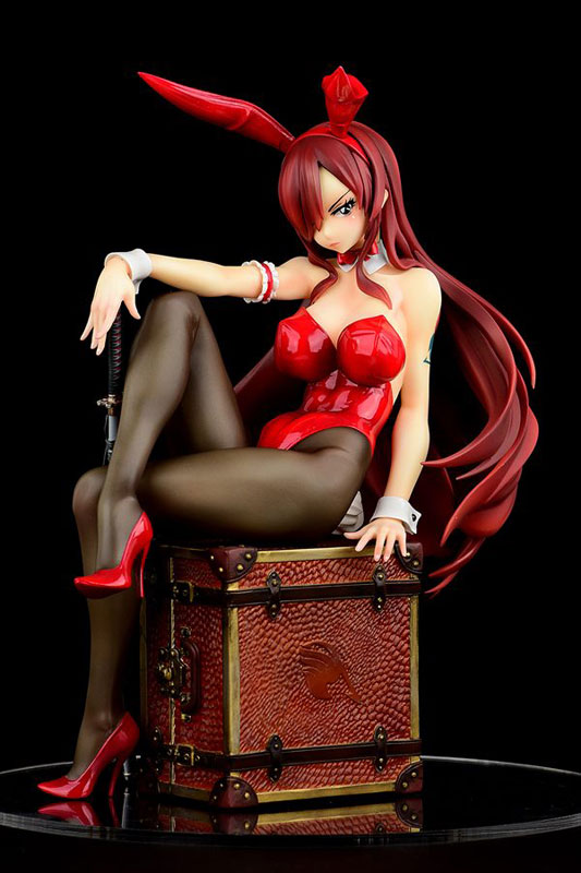 FAIRY TAIL『エルザ・スカーレット Bunny girl_Style/type rosso』1/6 完成品フィギュア-001