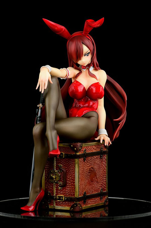 FAIRY TAIL『エルザ・スカーレット Bunny girl_Style/type rosso』1/6 完成品フィギュア-002