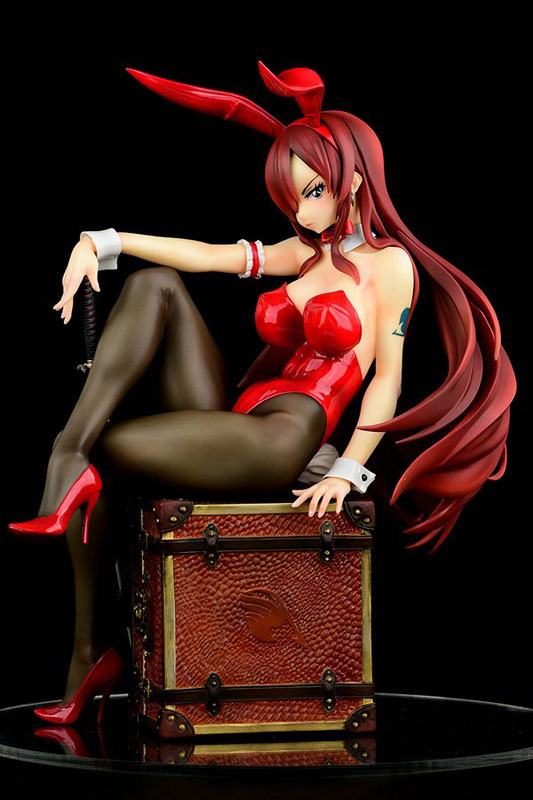FAIRY TAIL『エルザ・スカーレット Bunny girl_Style/type rosso』1/6 完成品フィギュア-003