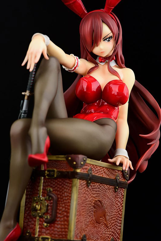 FAIRY TAIL『エルザ・スカーレット Bunny girl_Style/type rosso』1/6 完成品フィギュア-005