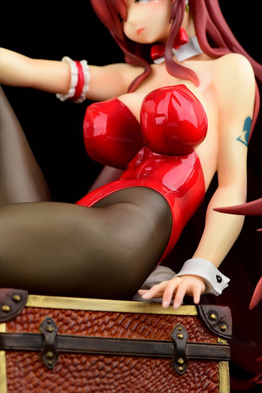 FAIRY TAIL『エルザ・スカーレット Bunny girl_Style/type rosso』1/6 完成品フィギュア-007