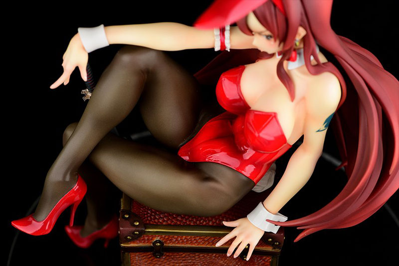FAIRY TAIL『エルザ・スカーレット Bunny girl_Style/type rosso』1/6 完成品フィギュア-008