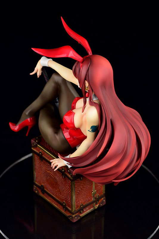 FAIRY TAIL『エルザ・スカーレット Bunny girl_Style/type rosso』1/6 完成品フィギュア-011