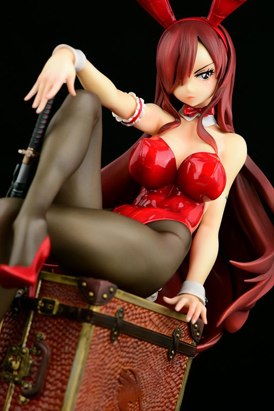 FAIRY TAIL『エルザ・スカーレット Bunny girl_Style/type rosso』1/6 完成品フィギュア-025