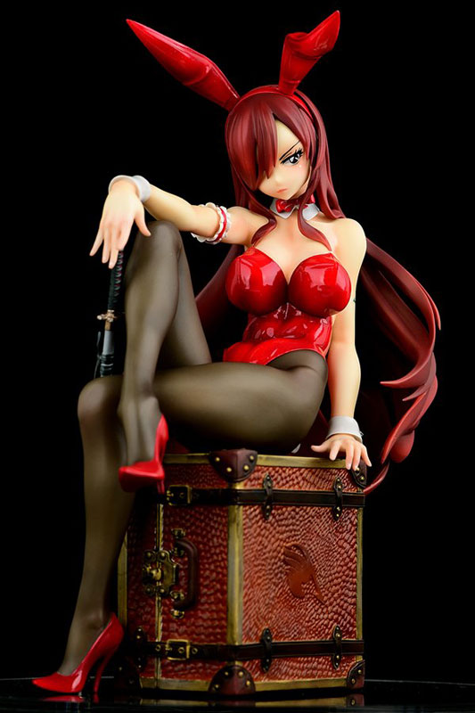 FAIRY TAIL『エルザ・スカーレット Bunny girl_Style/type rosso』1/6 完成品フィギュア-027