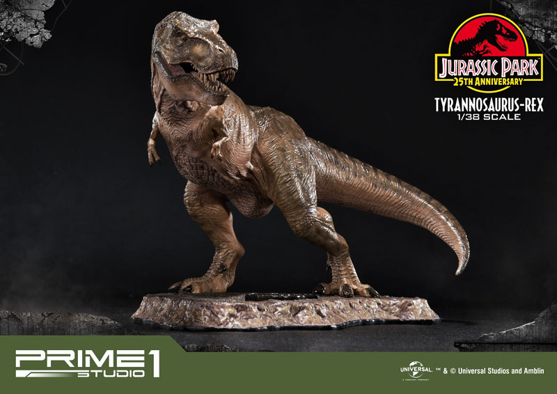 プライムコレクタブルフィギュア『ティラノサウルス・レックス』ジュラシック・パーク 1/38 スタチュー-001