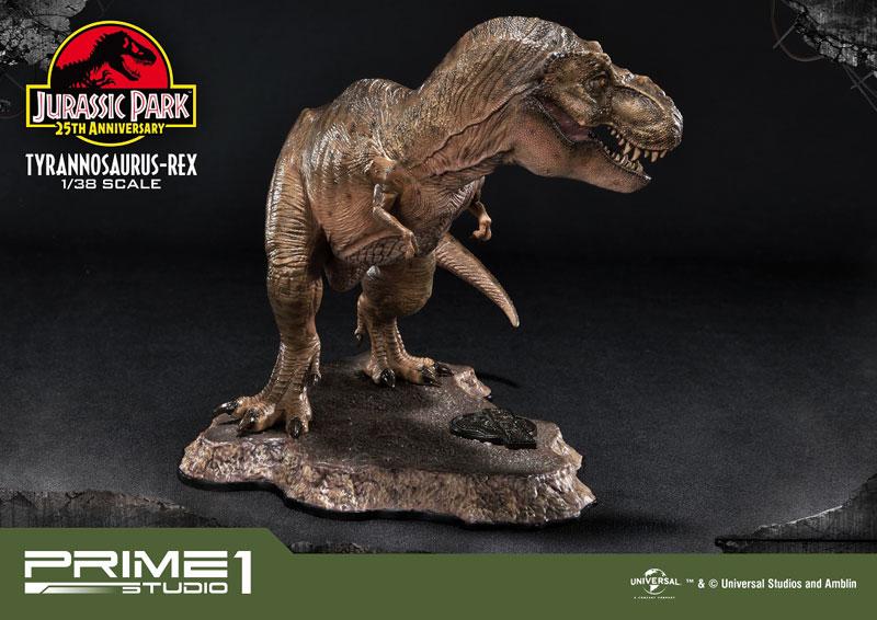 プライムコレクタブルフィギュア『ティラノサウルス・レックス』ジュラシック・パーク 1/38 スタチュー-003
