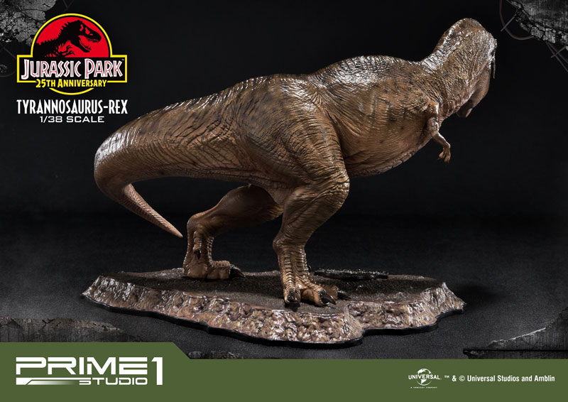 プライムコレクタブルフィギュア『ティラノサウルス・レックス』ジュラシック・パーク 1/38 スタチュー-004