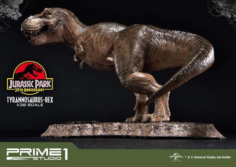 プライムコレクタブルフィギュア『ティラノサウルス・レックス』ジュラシック・パーク 1/38 スタチュー-006
