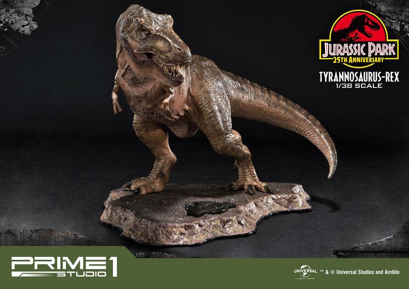 プライムコレクタブルフィギュア『ティラノサウルス・レックス』ジュラシック・パーク 1/38 スタチュー-007