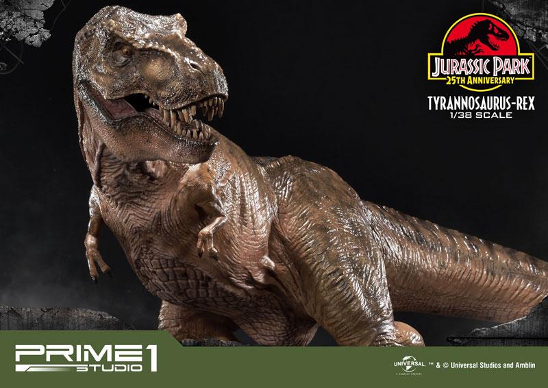 プライムコレクタブルフィギュア『ティラノサウルス・レックス』ジュラシック・パーク 1/38 スタチュー-008