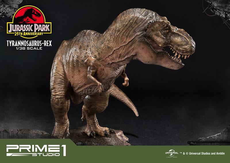 プライムコレクタブルフィギュア『ティラノサウルス・レックス』ジュラシック・パーク 1/38 スタチュー-009