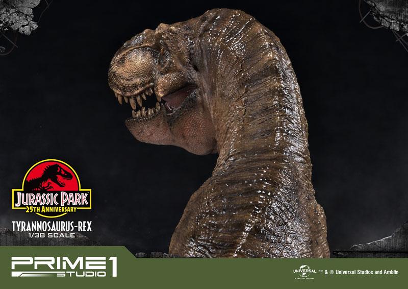 プライムコレクタブルフィギュア『ティラノサウルス・レックス』ジュラシック・パーク 1/38 スタチュー-010