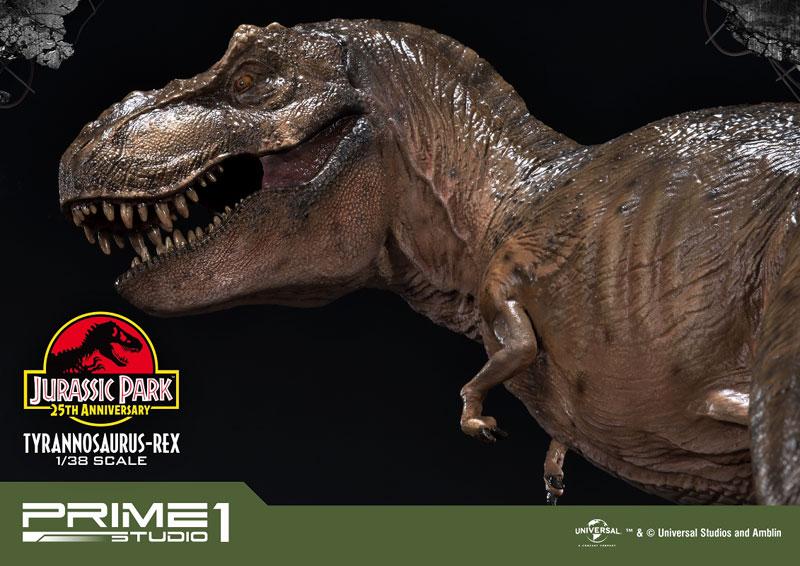 プライムコレクタブルフィギュア『ティラノサウルス・レックス』ジュラシック・パーク 1/38 スタチュー-011