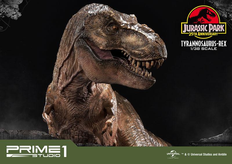 プライムコレクタブルフィギュア『ティラノサウルス・レックス』ジュラシック・パーク 1/38 スタチュー-012