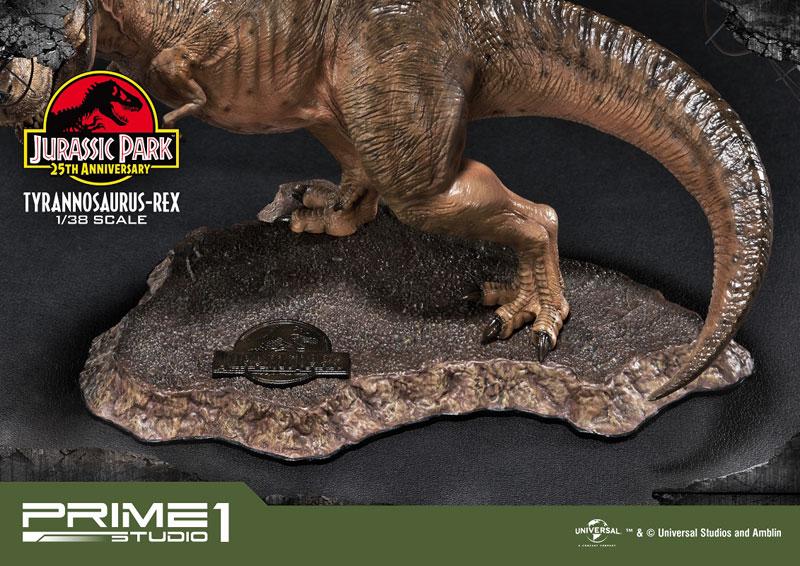 プライムコレクタブルフィギュア『ティラノサウルス・レックス』ジュラシック・パーク 1/38 スタチュー-013