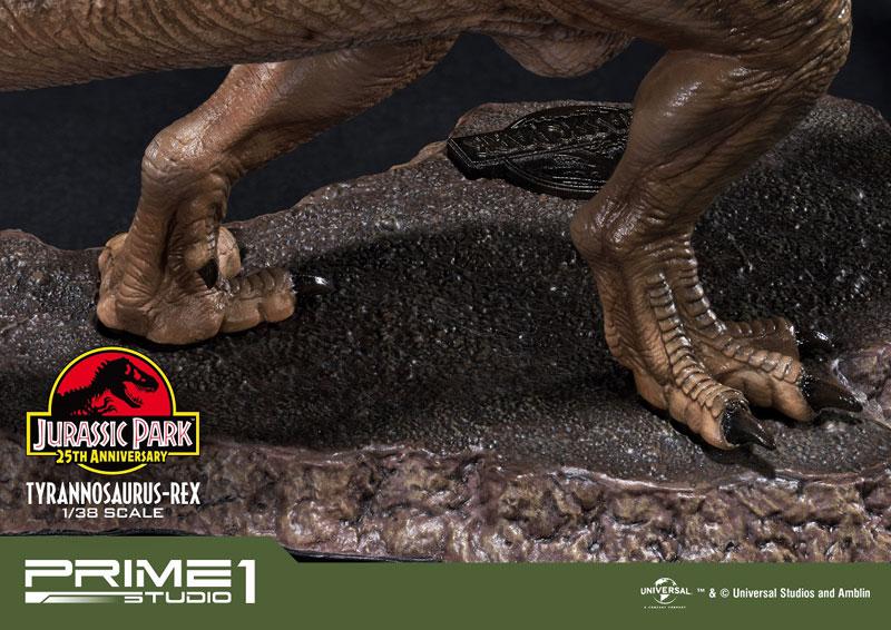 プライムコレクタブルフィギュア『ティラノサウルス・レックス』ジュラシック・パーク 1/38 スタチュー-014