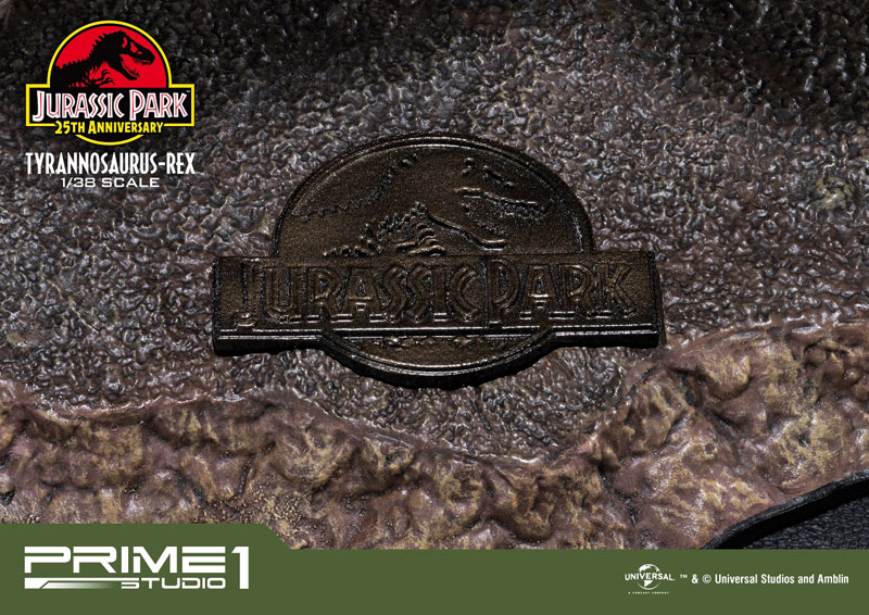 プライムコレクタブルフィギュア『ティラノサウルス・レックス』ジュラシック・パーク 1/38 スタチュー-015