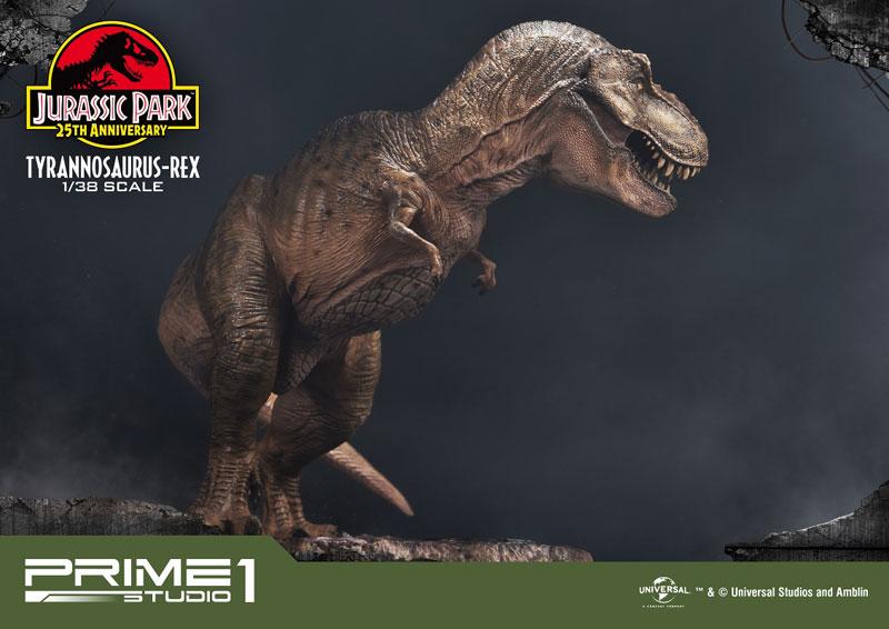 プライムコレクタブルフィギュア『ティラノサウルス・レックス』ジュラシック・パーク 1/38 スタチュー-016