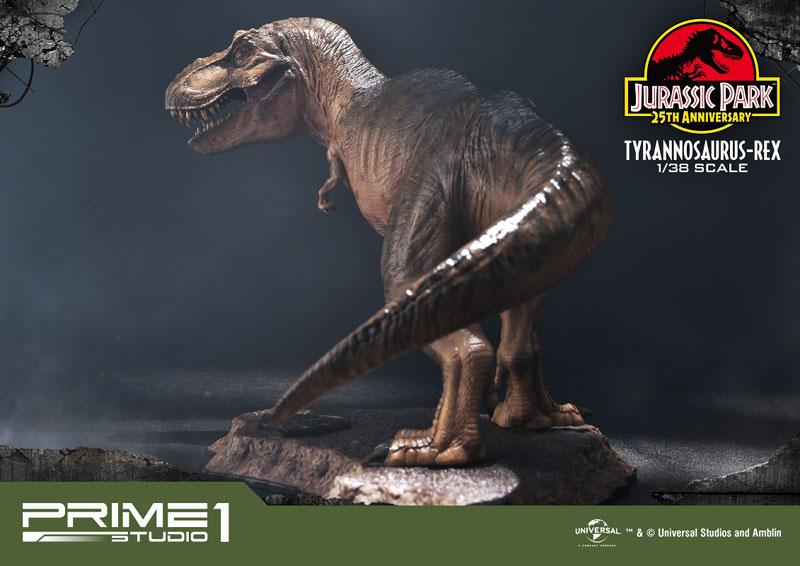 プライムコレクタブルフィギュア『ティラノサウルス・レックス』ジュラシック・パーク 1/38 スタチュー-017