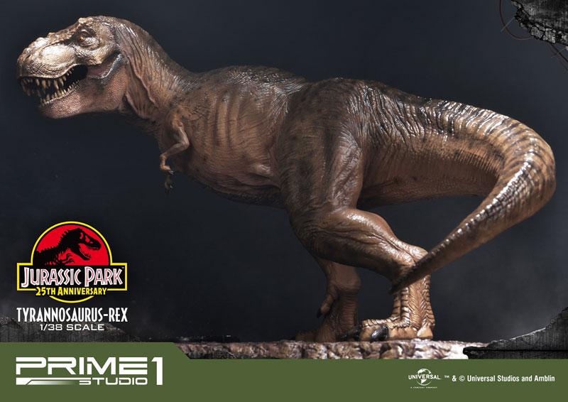プライムコレクタブルフィギュア『ティラノサウルス・レックス』ジュラシック・パーク 1/38 スタチュー-018