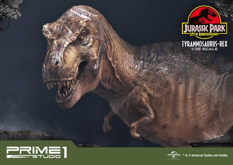 プライムコレクタブルフィギュア『ティラノサウルス・レックス』ジュラシック・パーク 1/38 スタチュー-019
