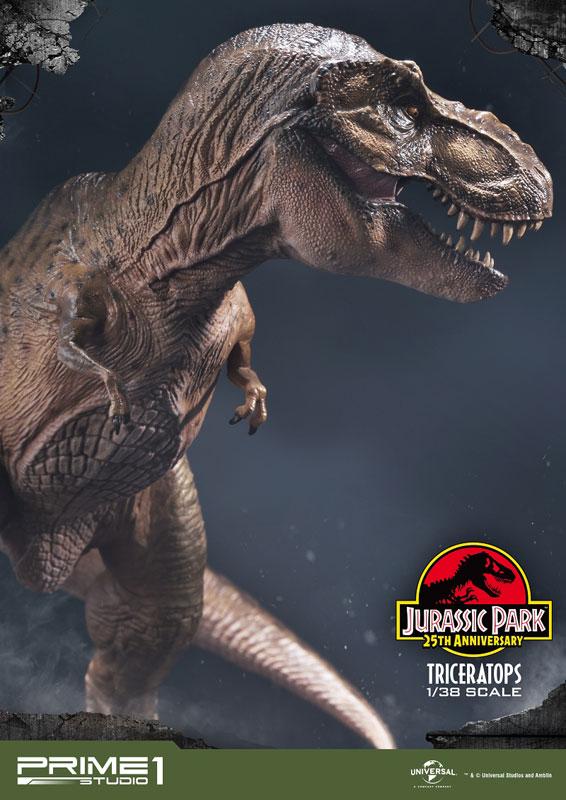 プライムコレクタブルフィギュア『ティラノサウルス・レックス』ジュラシック・パーク 1/38 スタチュー-020