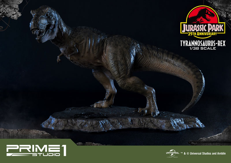 プライムコレクタブルフィギュア『ティラノサウルス・レックス』ジュラシック・パーク 1/38 スタチュー-021