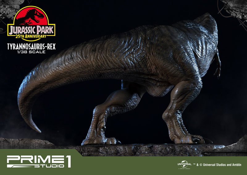 プライムコレクタブルフィギュア『ティラノサウルス・レックス』ジュラシック・パーク 1/38 スタチュー-025