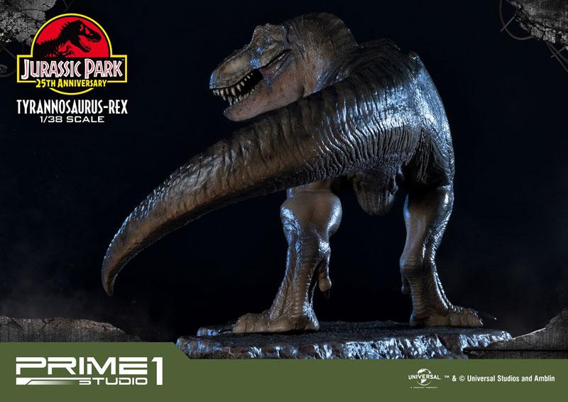 プライムコレクタブルフィギュア『ティラノサウルス・レックス』ジュラシック・パーク 1/38 スタチュー-026