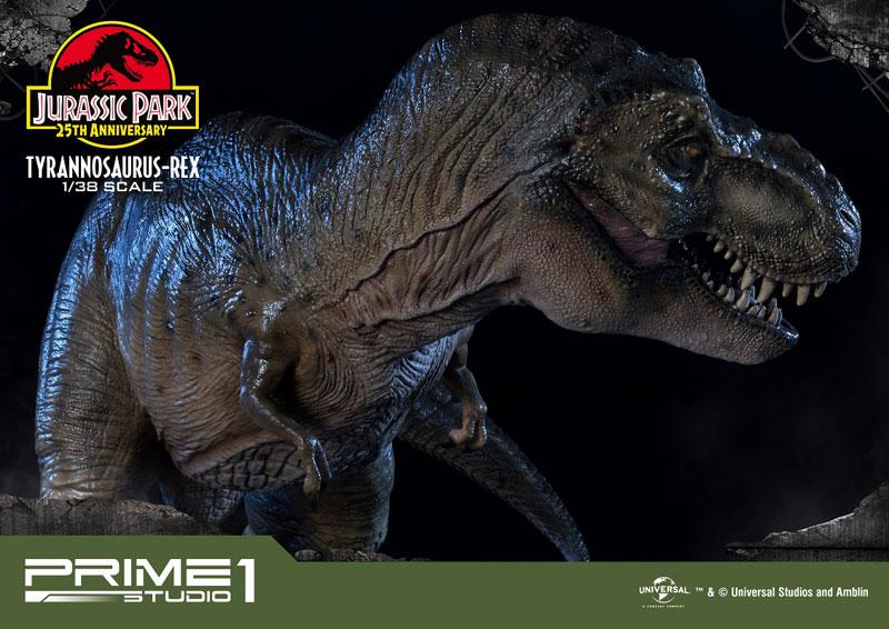 プライムコレクタブルフィギュア『ティラノサウルス・レックス』ジュラシック・パーク 1/38 スタチュー-027