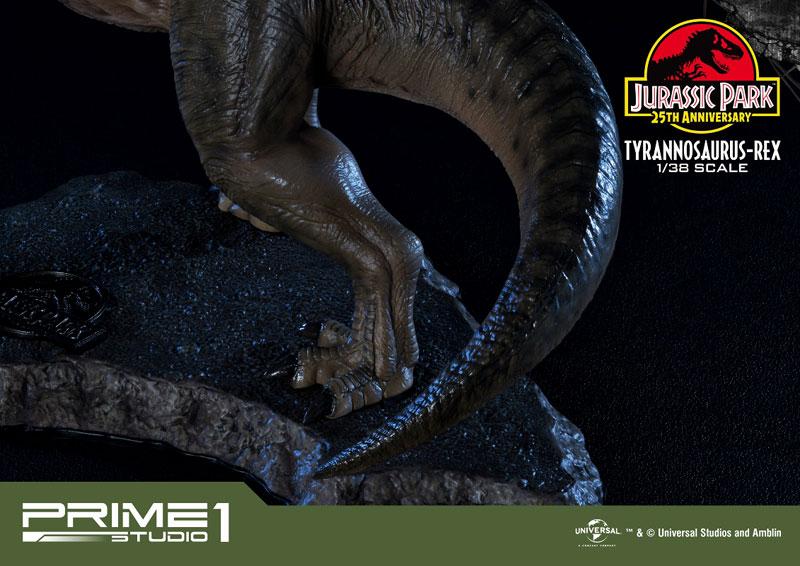 プライムコレクタブルフィギュア『ティラノサウルス・レックス』ジュラシック・パーク 1/38 スタチュー-028