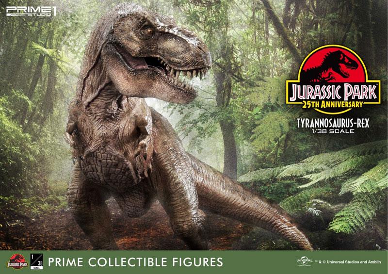 プライムコレクタブルフィギュア『ティラノサウルス・レックス』ジュラシック・パーク 1/38 スタチュー-030