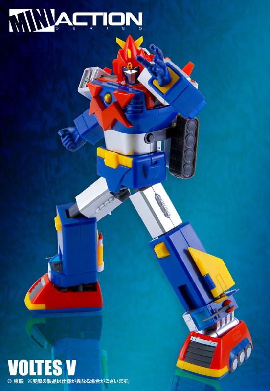 ミニアクションフィギュア『超電磁マシーン ボルテスV』合体可動フィギュア-002