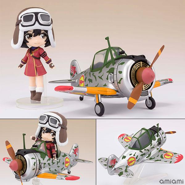 Figuarts mini『キリエ&隼一型(キリエ仕様)』荒野のコトブキ飛行隊 可動フィギュア