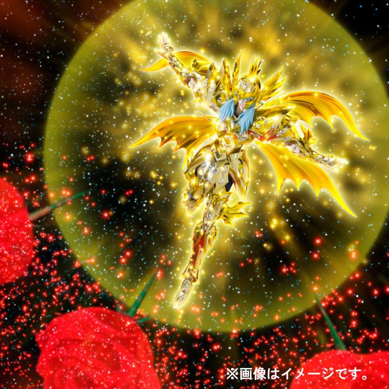 【再販】聖闘士聖衣神話EX『ピスケス アフロディーテ(神聖衣)』聖闘士星矢 可動フィギュア-009