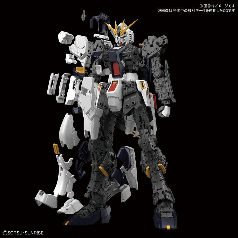 RG 1/144『νガンダム』逆襲のシャア プラモデル-003
