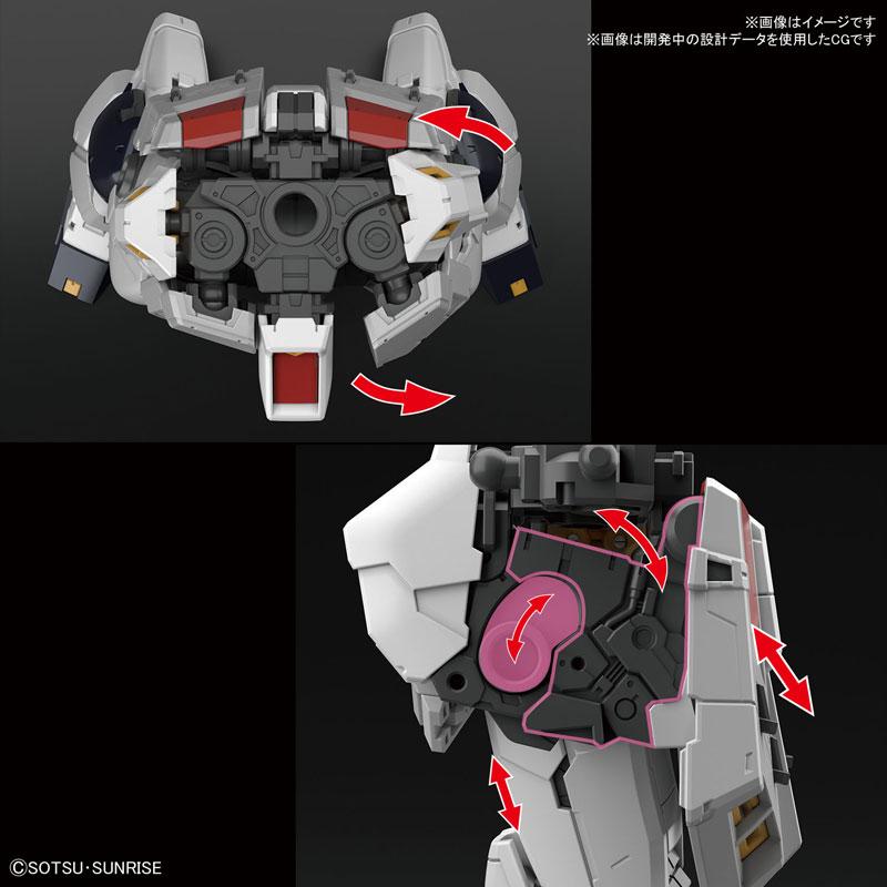 RG 1/144『νガンダム』逆襲のシャア プラモデル-006