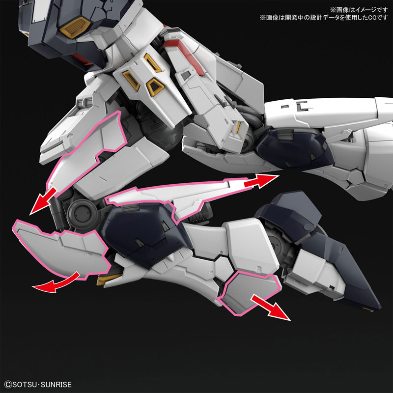 RG 1/144『νガンダム』逆襲のシャア プラモデル-007