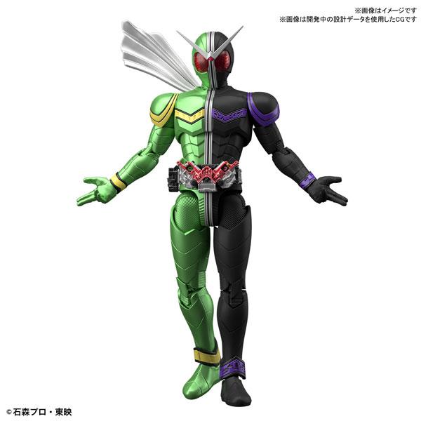 Figure-rise Standard『仮面ライダーW サイクロンジョーカー』プラモデル