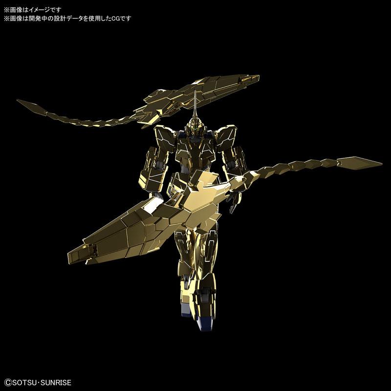 HGUC 1/144『ユニコーンガンダム3号機 フェネクス(ユニコーンモード)ナラティブVer.[ゴールドコーティング]』プラモデル-002