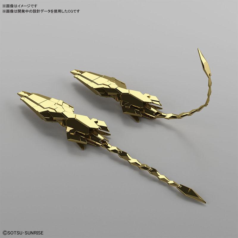 HGUC 1/144『ユニコーンガンダム3号機 フェネクス(ユニコーンモード)ナラティブVer.[ゴールドコーティング]』プラモデル-003