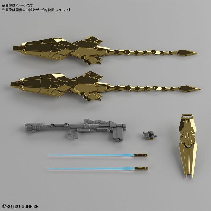 HGUC 1/144『ユニコーンガンダム3号機 フェネクス(ユニコーンモード)ナラティブVer.[ゴールドコーティング]』プラモデル-004