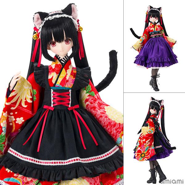 Black Raven『Lilia(リリア)~大正浪漫~ 黒猫』1/3 完成品ドール