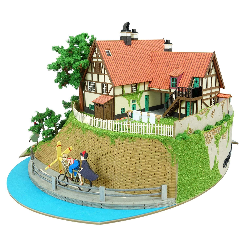 みにちゅあーとキット スタジオジブリシリーズ『魔女の宅急便ジオラマ』模型-003