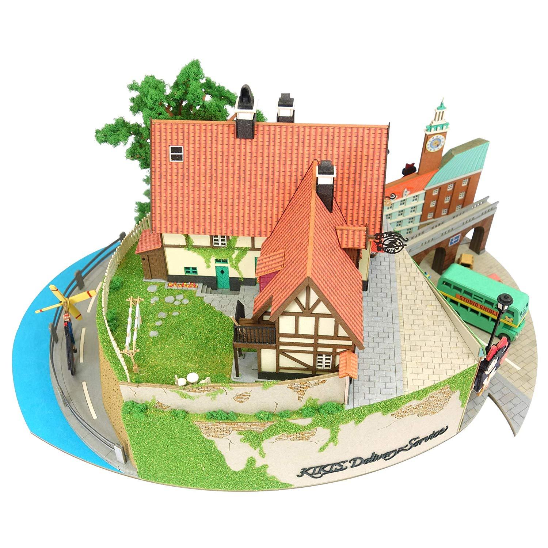 みにちゅあーとキット スタジオジブリシリーズ『魔女の宅急便ジオラマ』模型-004