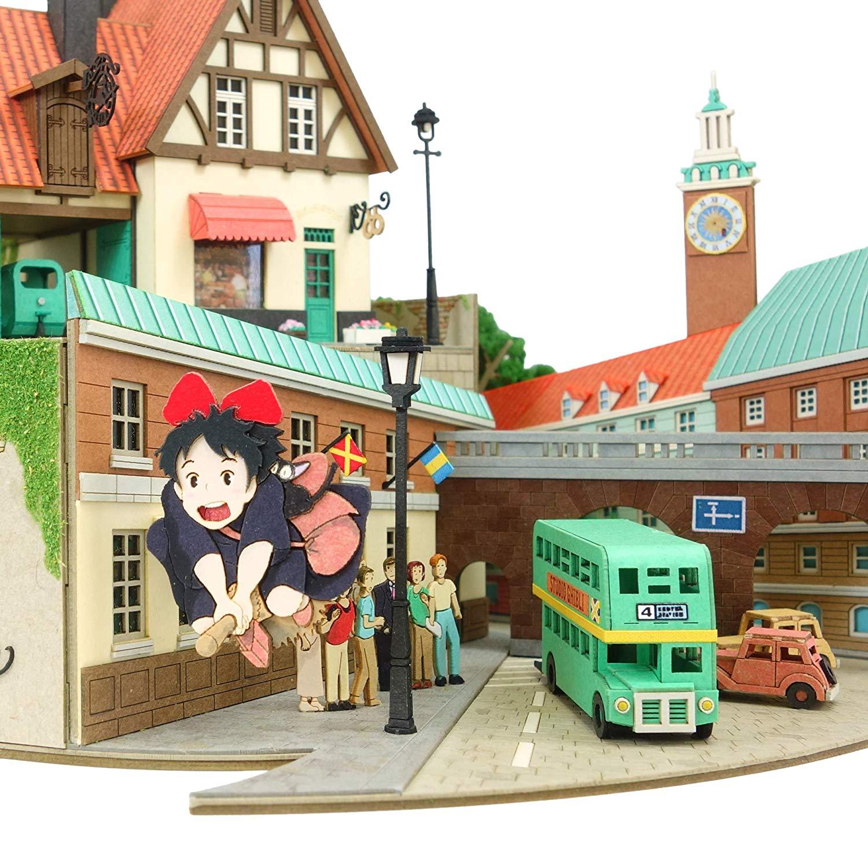 みにちゅあーとキット スタジオジブリシリーズ『魔女の宅急便ジオラマ』模型-008